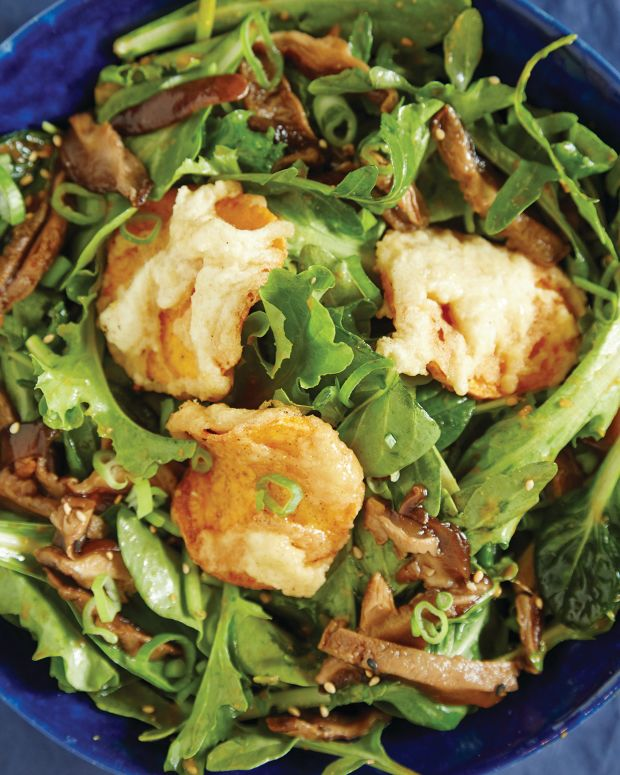 Sweet Potato Tempura Salad 65