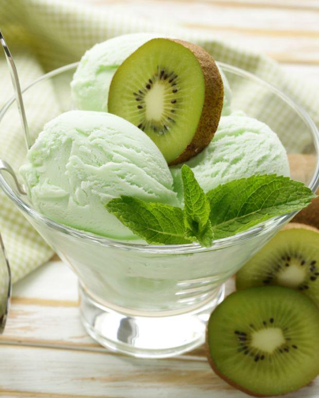 green tea jasmine sorbet