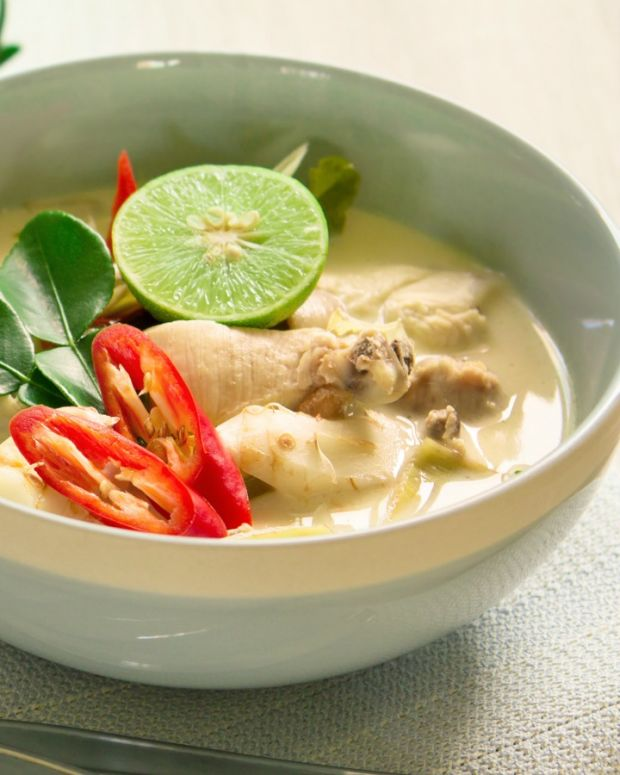Tom Kha Gai - Thai Coconut Soup vegetarian