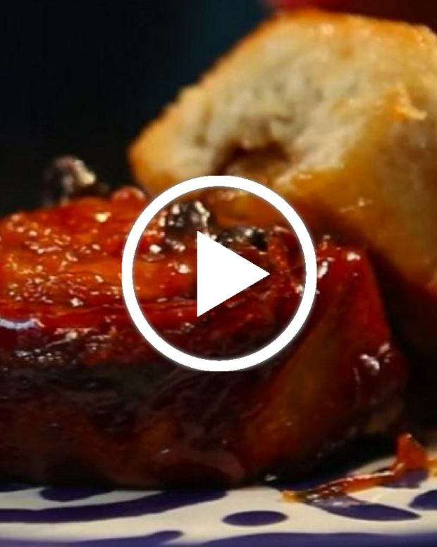 Apples and Honey Sticky Buns Video