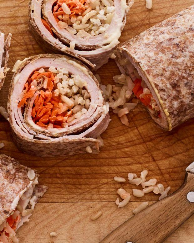 Kids Bento Box Turkey Carrot Sushi