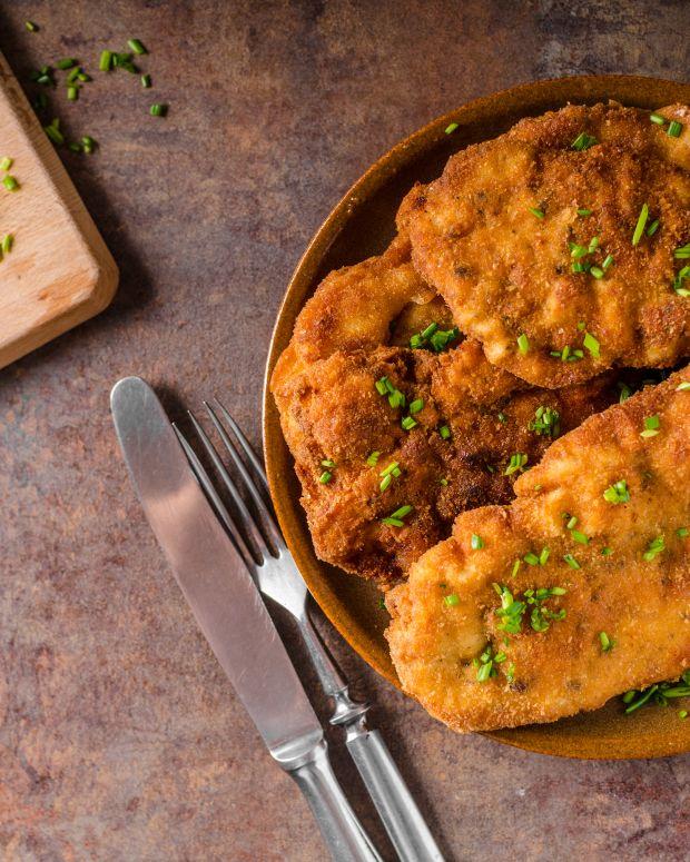 Matzo Chicken Schnitzel