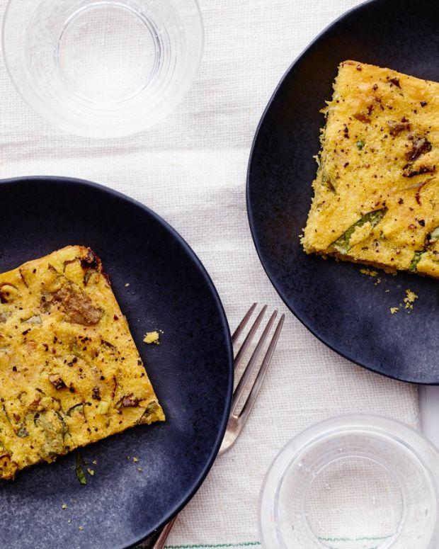 Breakfast Polenta Bake