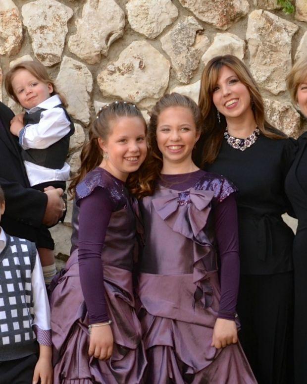 Jamie Geller and Family Bat Mitzvah