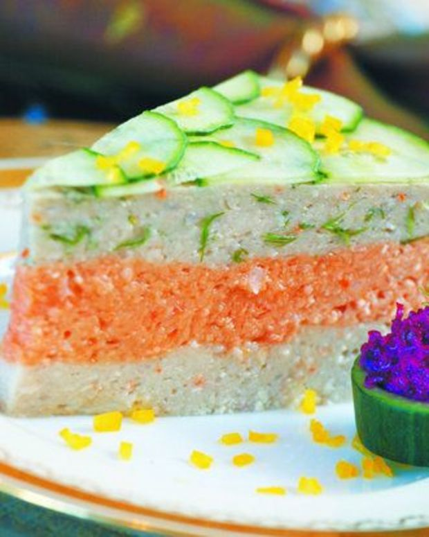 Tri Color Gefilte Fish