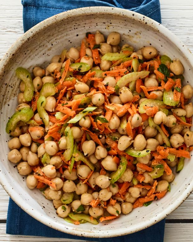 3 ingredient chickpea salad