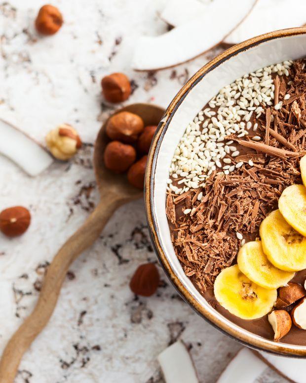 Chocolate Banana Smoothie Bowl