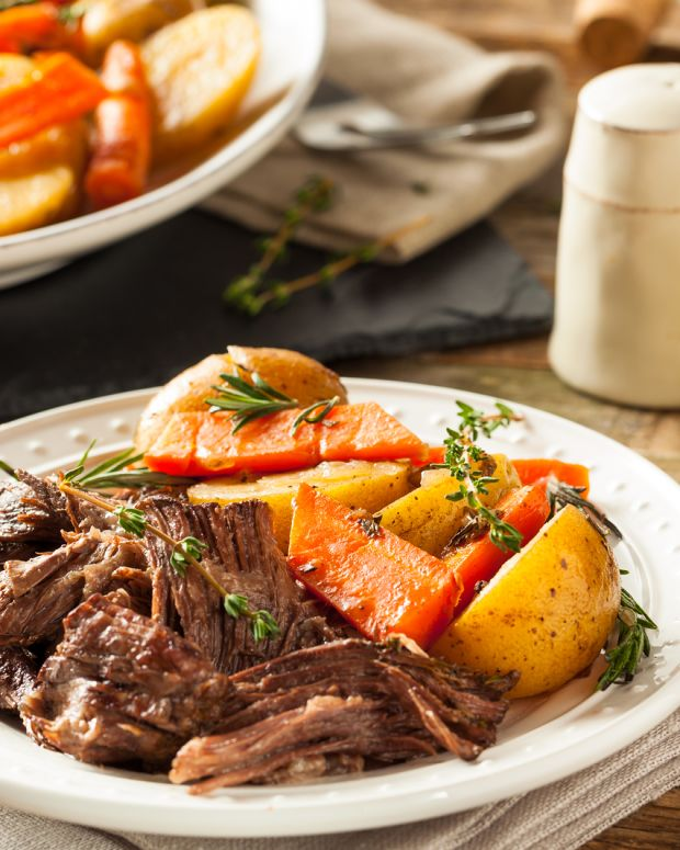Autumn Pot Roast With Root Vegetables