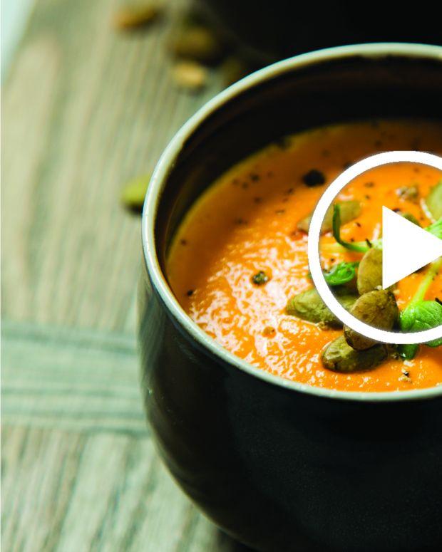carrot gazpacho video