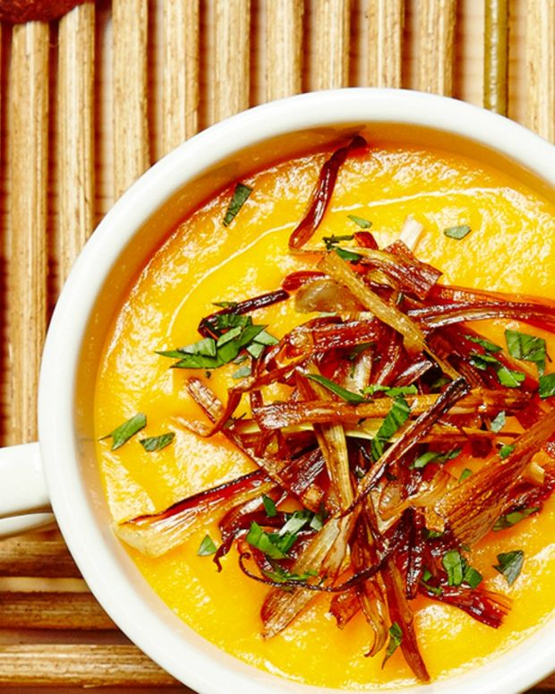 gingered carrot soup