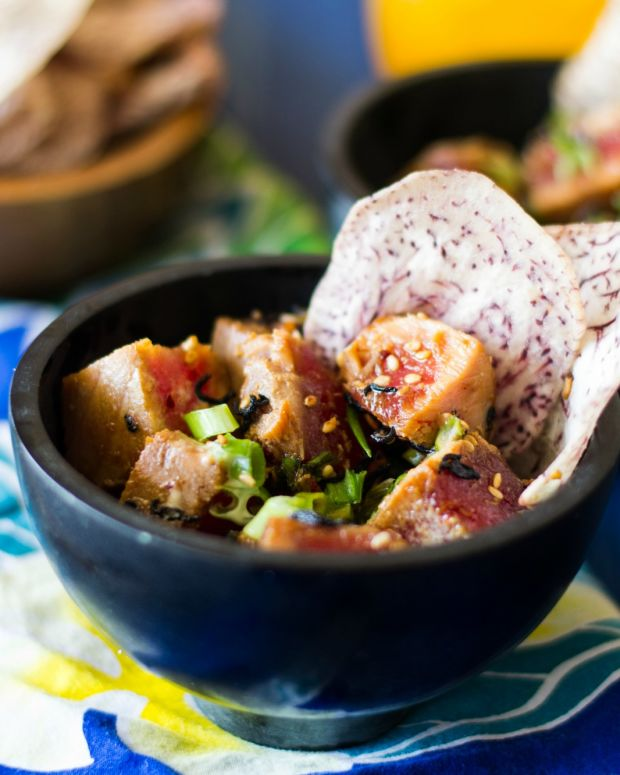 Seared Poke with Taro Chips-2 resized.jpg