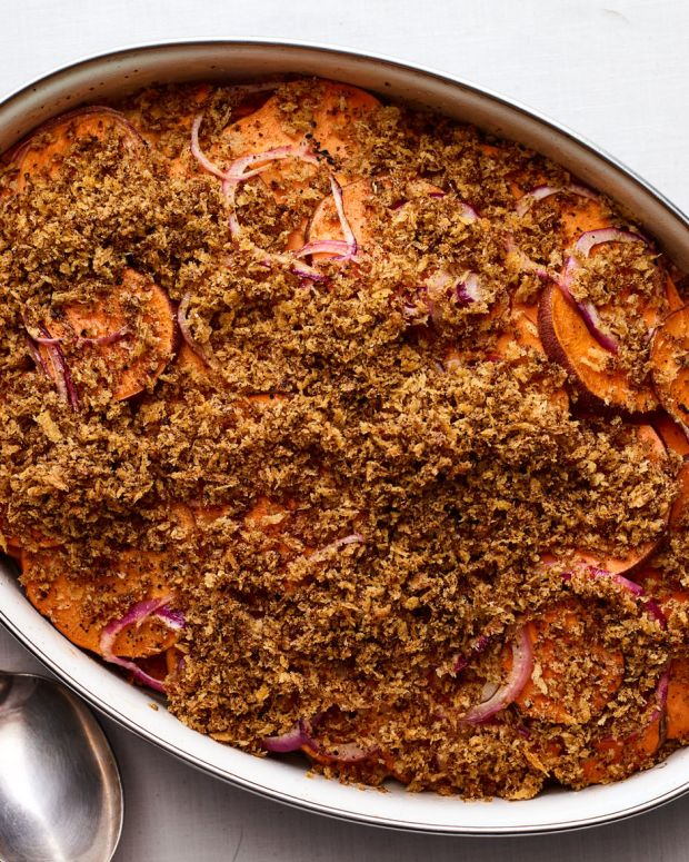 ANCHO CHILI SPICED SWEET POTATOES