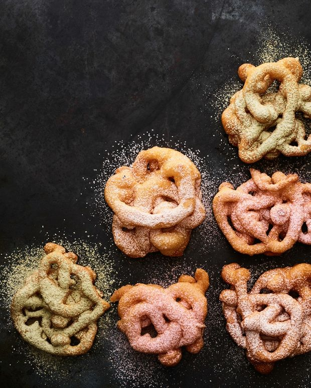 Funnel Cakes from Magazine