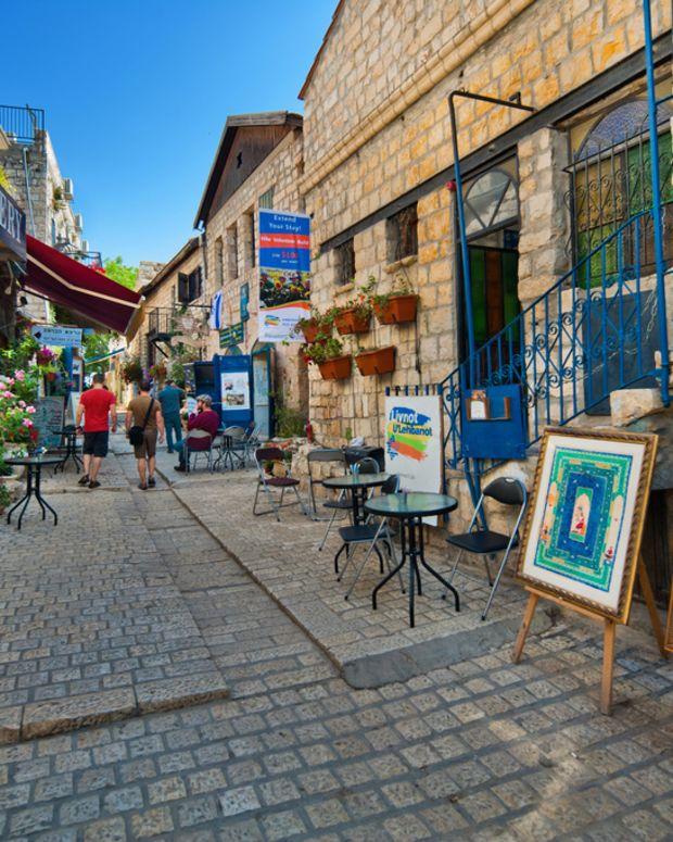 Tzfat Artists Quarter