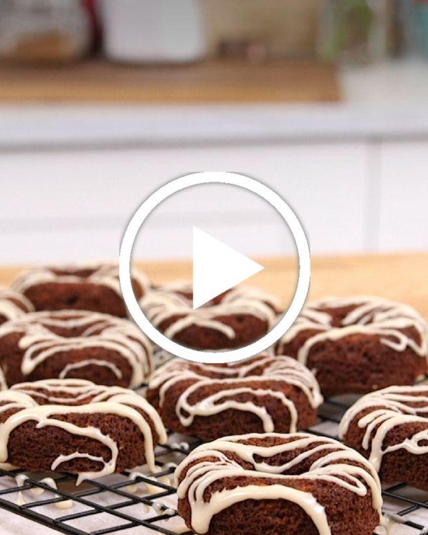 Carrot Cake Doughnuts