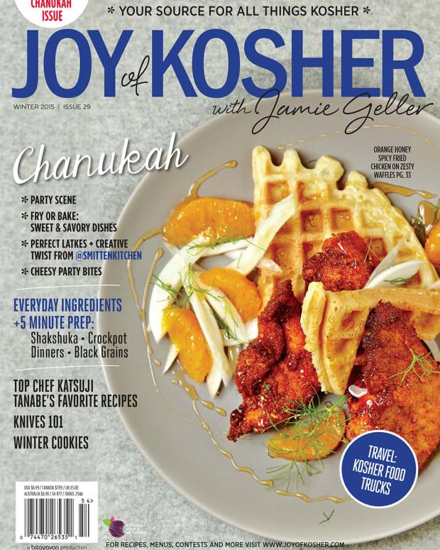 JoyofKosher with Jamie Geller Chanukah Magazine