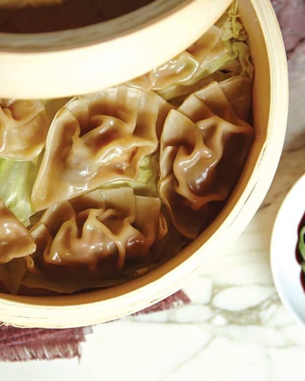 Dim Sum and Dipping Sauce