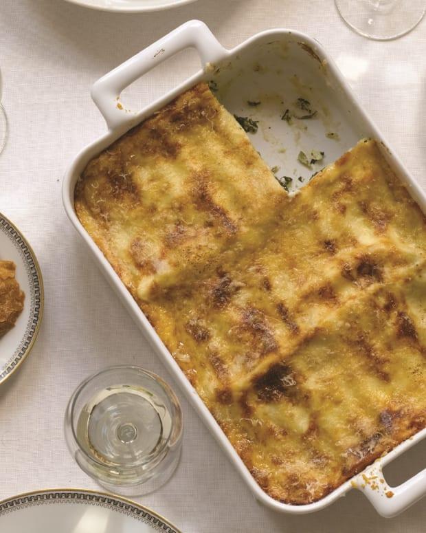 White Lasagna