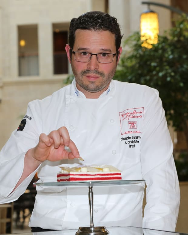 Pastry Chef Claude Ben-Simon