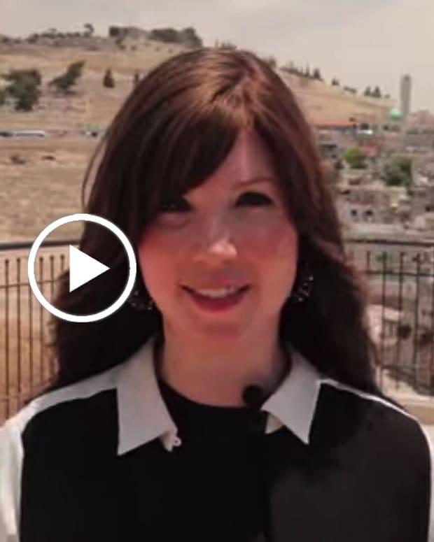 Watch Jamie Geller at the City of David