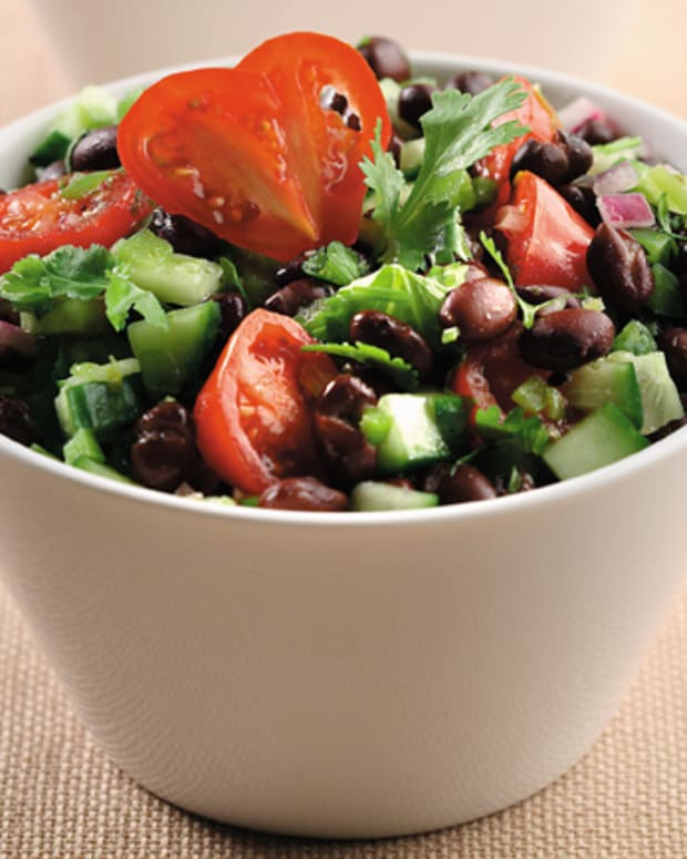 Cucumber And Black Bean Salsa Salad