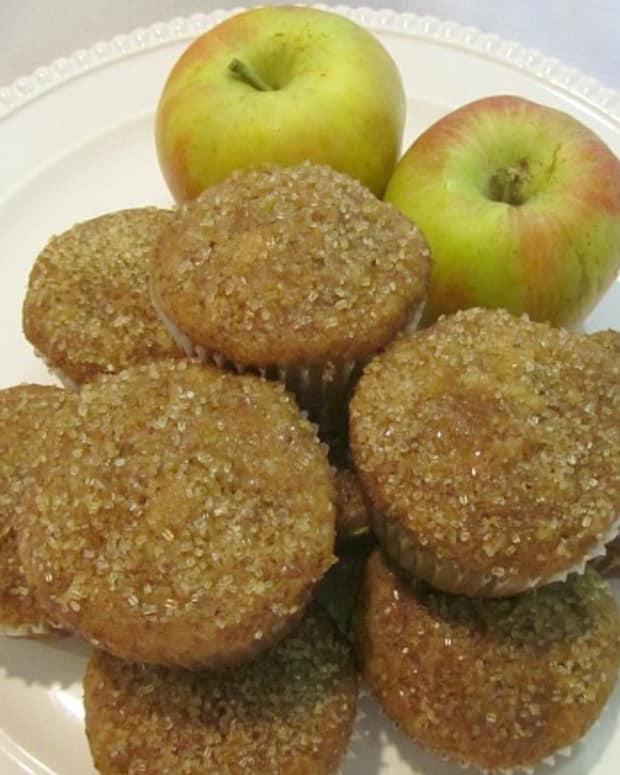 Triple Apple Muffins