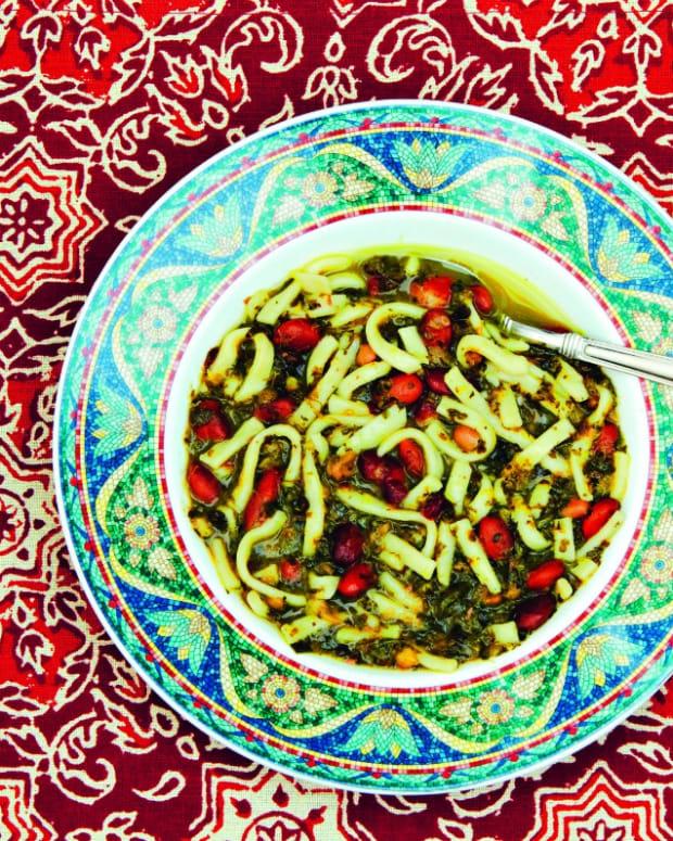 Persian Bean & Noodle Soup