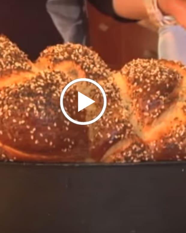 six braid challah video
