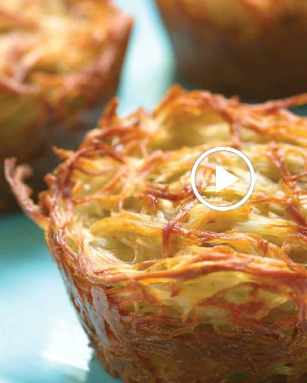 Potato Kugel Cups Video