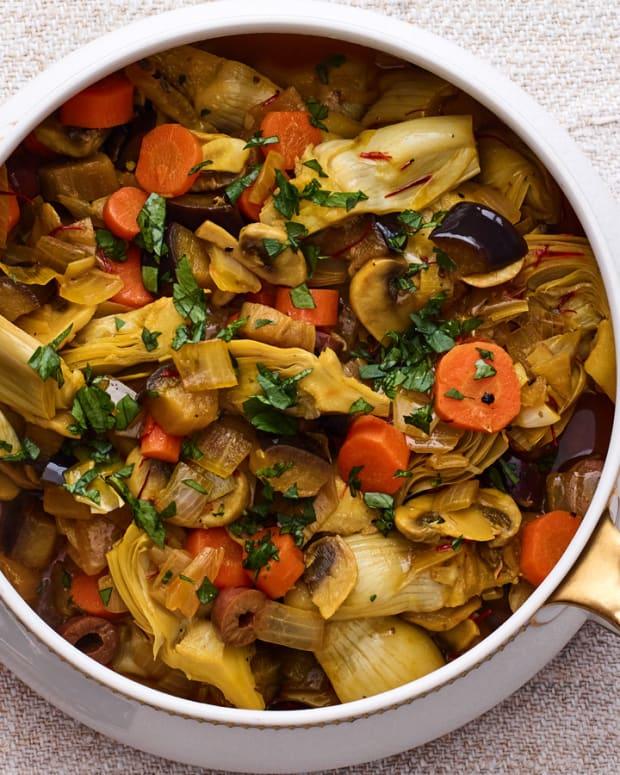 Vegetable Barigoule