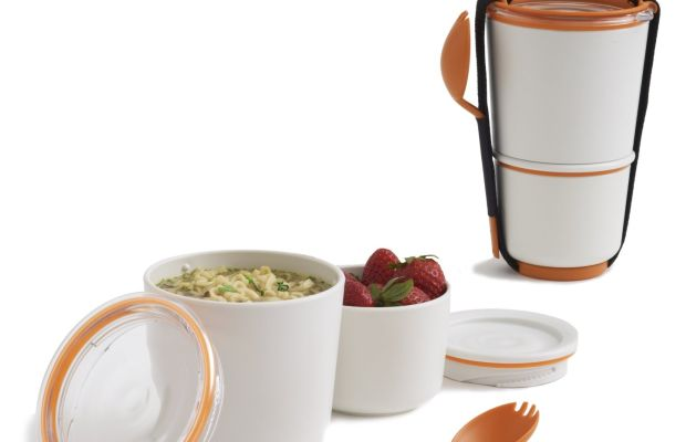 black and blum lunch pot