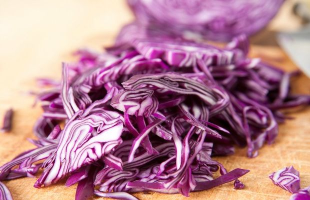 Red Cabbage Salad