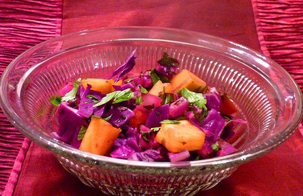 Israeli cabbage salad update