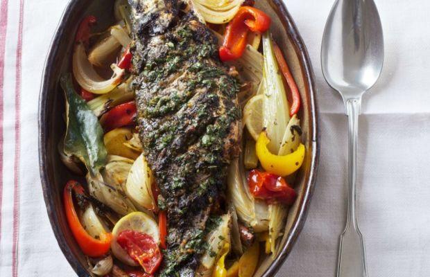 Sephardi spiced hot fish jewish cooking