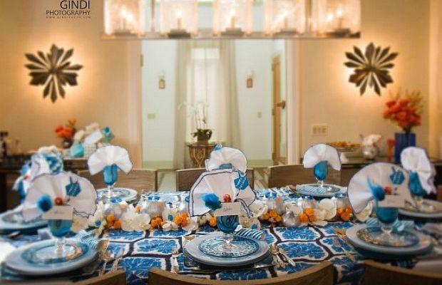 Thanksgivukkah table