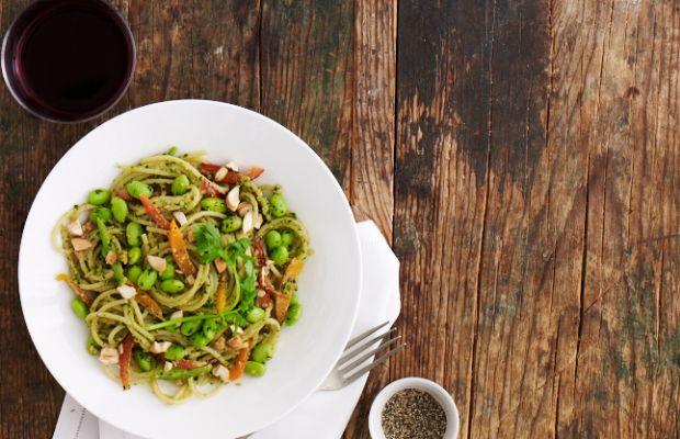 Thai Pesto Noodles