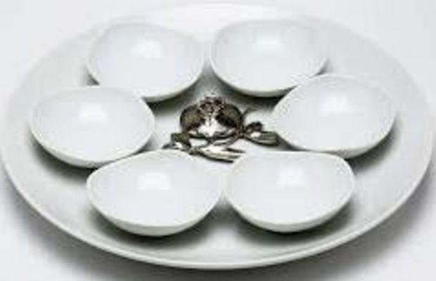 seder plate porcelain