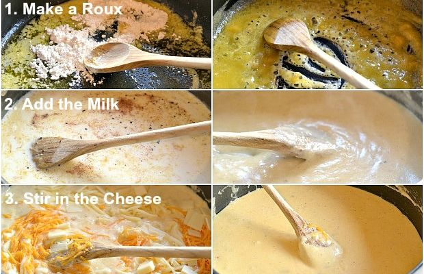 Gnocchi Mac and Cheese Steps to Make a Bechamel