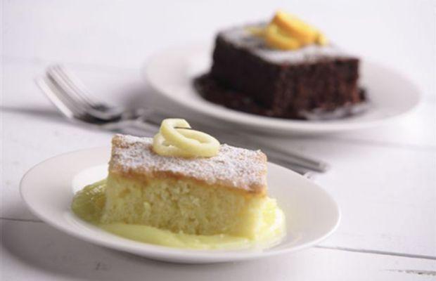 Chocolate Orange Pudding Cake