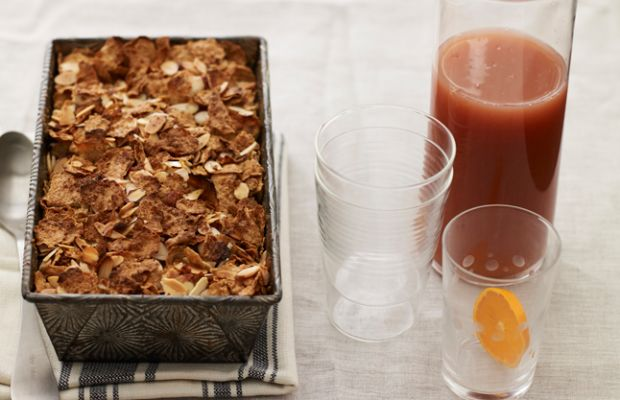 apple-crunch-bread-pudding-and-orange-sunrise-sparkler