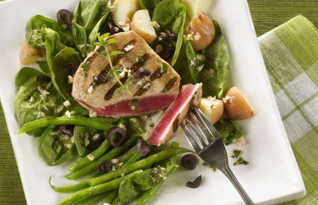 Grilled Tuna Nicoise Salad