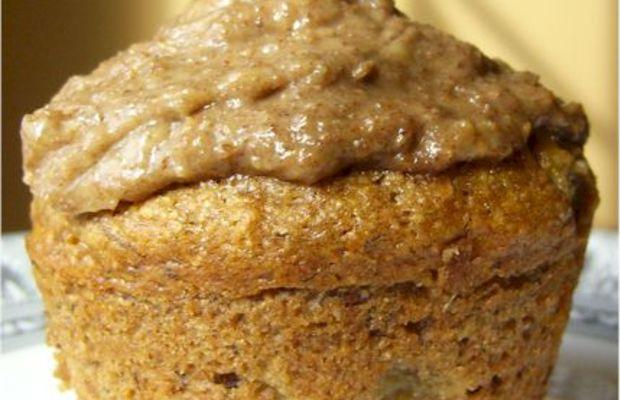 Whole-Wheat Cinnamon Raisin Banana Muffins