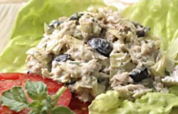 Artichoke-and-Ripe-Olive-Tuna-Salad