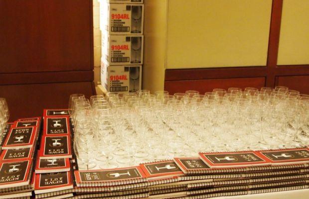wine glasses at kfwe14