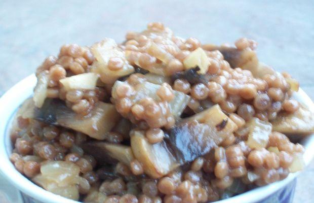 Whole Wheat Israeli Couscous