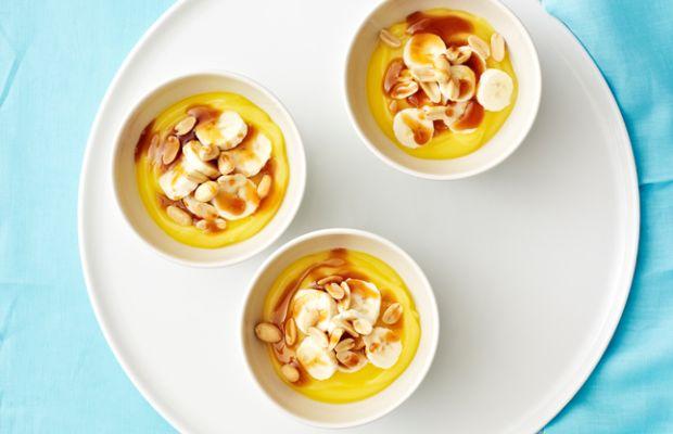 """Banana Caramel Pudding """"Sundae"""""""