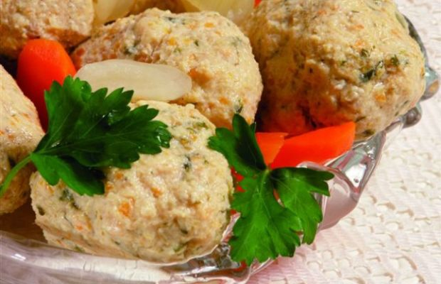 salmon gefilte fish in book,