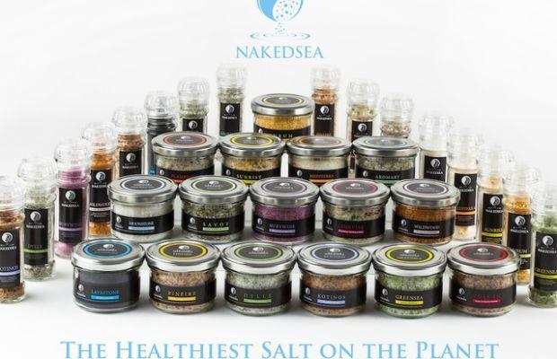 naked sea salt