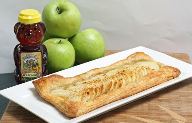 Apples and Honey Tart