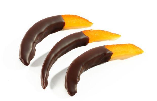 chocolate orange rind